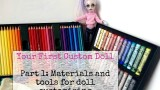 DIY Doll Swimwear Easy / How to Make Monster High Swimsuit Bikini  DIY Craft Tutorial Clothes