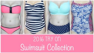 2017 SUMMER TRY ON SWIMSUIT BIKINI COLLECTION | Allie Young